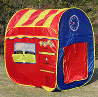 Tents Animes & Cartoons Polyester Free Shipping Post Office And Surpermaket Baby Tent Children's Indoor&Outdoor Fun Play Tents Game Room Great Gifts For Kids