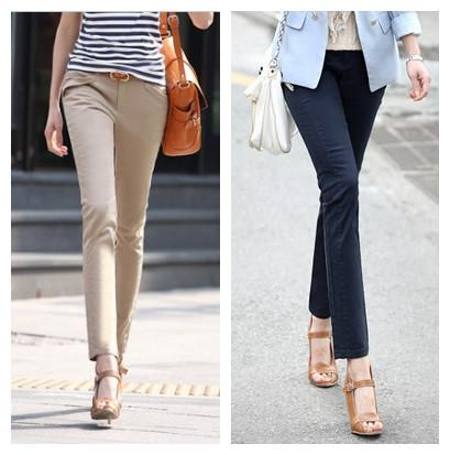 cotton dress pants for women - Pi Pants