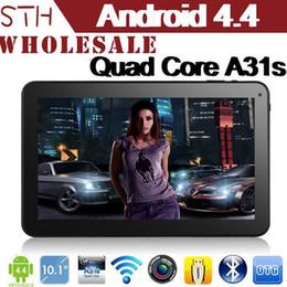 """8gb tactile en Ligne-10.1 """"Android 4.2 Quad Core tablette PC 1280 comprimés * 800 Afficher Allwinner A31s Quad Core avec Bluetooth tactile capacitif Tablet PC"""