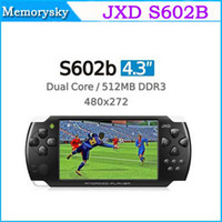 4.3 inch mp3 mp4 game - New Xmas Gift JXD S602B Game Console Tablet PC Inch Dual Core Android GB MP3 MP4 Player Camera