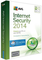 Wholesale Hot Selling AVG Internet Security entire function software English years four years card pc
