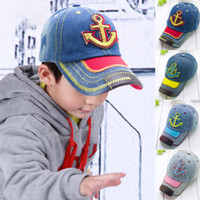 Wholesale New Spring And Summer Weathervane Child Hat Snapback Baseball Cap Embroidered Patch Bonnet Four Color e