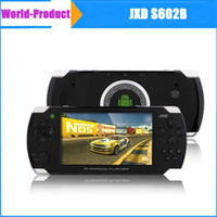 Wholesale Android inch JXD S602B Portable Game console G Multi Language point capacitive touch screen MB DDR3 GB
