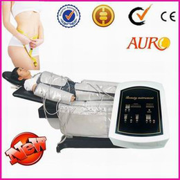 Wholesale Promotion CE air pressotherapy pump far infrared machine body shaping slimming suit beauty machine with CE Au