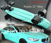 Wholesale New arrival quot Penny Pastels Mint Candy Coloured skateboard long board