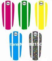Wholesale 5pcs set inch penny style skateboard long board stickers grip tape