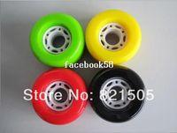 Wholesale 4Pcs Set mm x mm Freeline Drift Board Roller Skate Wheels Fit For Skateboard longboard skating