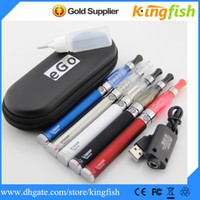 Single Multi Metal kingfish electronic cigarette vaporizer pen e cigarette kits Vision Spinner Ego c twist battery ce4 atomizer ego ce4 kit ego cigarette e cig