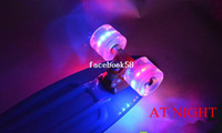 Wholesale Brand New Longboard Skateboard Led flashing Skate Penny Wheels mm x mm with ABEC Bearings