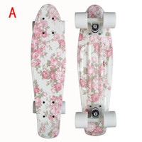 Electric Skateboard long board - New version quot Printing Custom Penny style skateboard long board complete with ABEC bearing