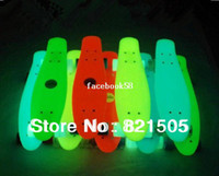 """Electric Skateboard 22inch Yes Free shipping New 22"""" Penny Nickel Stereo Retro Cruiser SkateBoard Glow In the dark(Pink,blue,green,white)"""
