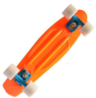 "Electric Skateboard 22inch Yes Free Shipping Blank Custom 22"" Penny skateboard Mini Cruiser Nickel Skate board 2013Version Orange Blue White"