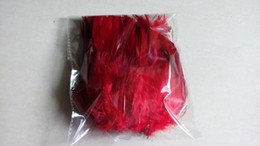 Free Shipping 200PCS Lot Wine Red Rooster Feathers For Wedding Party Performance Jewelry Craft Diy Trim Boa Feather Approx 10-15CM