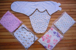 Wholesale Retail Hot Sale Summer Swaddle Baby Sleeping bags baby sleepsacks wraps Infant Baby Swaddling Sleep Bag Infant Cotton Wrap Bags M Melee