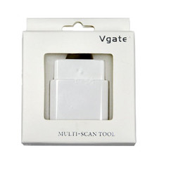 Wholesale vgate wifi elm327 WiFi OBD2 elm327 wifi vgate wifi support ANDROID PC WINCE IPHONE IPAD mult scan tool obd2
