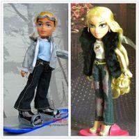 Wholesale Genuine American super cute MGA Bratz Rock Angels Baez and her boyfriend skater boy