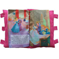 Multicolor english books - pillow cloth book English story books the Snow White princess baby cloth book medium