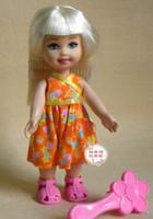 Girls Birth-12 months Jewelry [Crown ] genuine parity Barbie - Barbie 's sister Kelly   Kelly 15 cm high rare