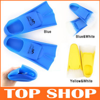 Wholesale Short Swim Flippers Diving Fins Diving Equipment Snorkeling Gear Lightweight Flippers HW0153