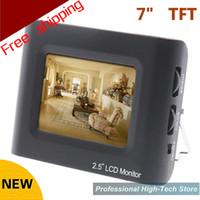 envío libre 2013 nueva 2.5quot; TFT LCD probador video del CCTV monitor portátil Prueba de la cámara de vídeo CCTV Tester