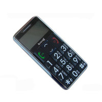 Wholesale New Arrive callming Dual Card Old Man Straight Mobile Phone Big Button Large Speakers Radio Three Anti Cell Phone