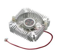 Wholesale V A High Power LED Light W W Heatsink Fan Aluminum Plastic