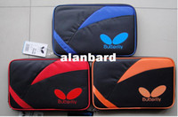 Wholesale HOT Butterfly sports bag Table Tennis Racket CASE tbc table tennis ball bag Color