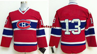 Soccer Men Full High Quality 2014-2015 Newest Canadiens Hockey Jerseys for Kids Youth #13 Michael Cammalleri Red Home Jersey Cheap Stitched Sports Jerseys
