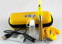 Single Electronic Cigarette  Vape Electronic Hookah Box Mod Ce4 Electronic Cigarette Starter Kits Ego-t Battery 650mah 900mah 1100mah Ego Atomizer E Zipper Case A073