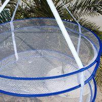 Wholesale R343 quality large double retractable folding laundry basket laundry basket windproof g
