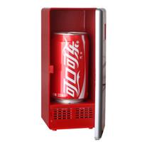 USB Cooler mini refrigerator - Cheap MINI Portable USB PC Fridge Car Refrigerator Heater Beer Juice Warmer Cooler with LED Indicator In Stock