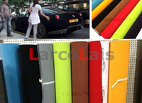 auto body adhesive - 1 m m Vinyl Wrap Velvet Interior Film Self Adhesive Auto Car Sticker