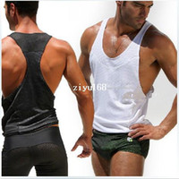 Wholesale any mens vest Tank top for man waistcoat sport v neck slim tank tops summer outdoors new gay wear brand shirts