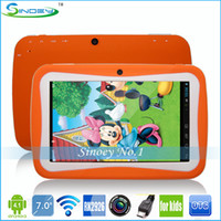 Wholesale Lovely inch kids Android tablet pc RK3026 Dual camera GB wifi capacitive children tablet pc