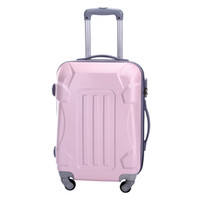 Wholesale 2013 fashion style simple but special portable trolley luggage square and strip type pattern large capacity waterproof