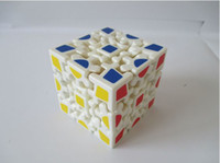 Wholesale Hot Special shaped gear plastic rubik s cube toys Classic Toys Cube Nice childhood memory Intellectual development Kids Toys Rubik s Cube