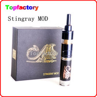 Wholesale 2014 Newest Stainless Steel Mechanical Clone E Cigarette Stingray Hades Mod Battery Body for Thread Electronic Cigarette by DHL
