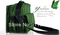 Wholesale 2014 Top Grade Amy Green Canvas Tool Bag Waterproof Courier Delivering Storage Bag without tools