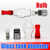 Cheap Glass tank for wax dry herb vaporizer e cigarette dry herb clearomizer glass atomizer for ego Series battery,vapor Wholesale Price churchill