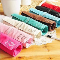 Cheap Winnie curly fashion simple multi-function color pencil stationery pencil case cosmetic bags pen curtain 68g