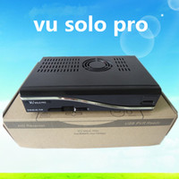Wholesale Vu Solo pro BlackHole image Accept Original Software DVB S2 Linux Digital Full HD Satellite Receiver PVR