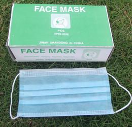 Wholesale Disposable face mask surgical masks dust mask anti virus mask