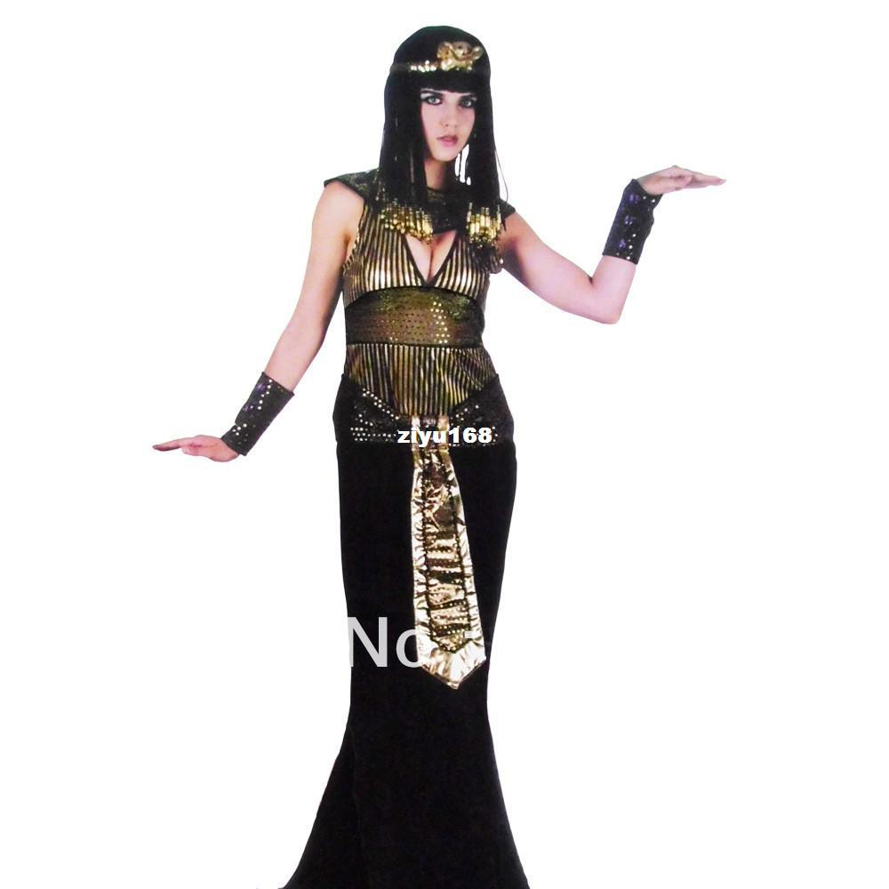 2017 Halloween Party Clothes Adult Egyptian Cleopatra Queen ...