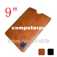 Sleeve/Pouch 7'' For Apple Nook HD 9 Case Sleeve Bag 9 Inch Leather Case for Android Tablet PC