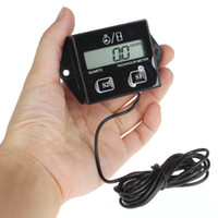 Wholesale LCD Display Digital Tachometer RPM Tacho Gauge Hour Meter For Motorcycle Boat Engines