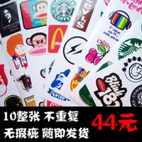Wholesale Special whole laptop computer stickers suitcase stickers affixed stickers suitcase boxnew
