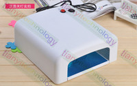 Wholesale 36W UV Gel Nail Lamp Curing Lamp Acrylic Gel Nail Dryer Light TIMER PRO SPA Equipment