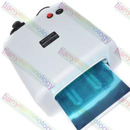 Wholesale Nail UV Lamp W UV Nail Gel Curing Lamp Creative Nail Design UV Lamp UV Nail Dryer Hairspray Nails UV Lamp