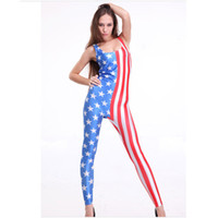 Zentai / Catsuit Costumes Men Food And Beverage sex costumes jumpsuit bodysuit with flag, hot sales printed clothing set for women club wear, stripper clothes pole dancing wear