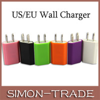 Wholesale Universal Colorful EU US USB Home Wall Travel Charger power Adapter A MAH with IC For Iphone s s android Samsung s3 s4 s5 note
